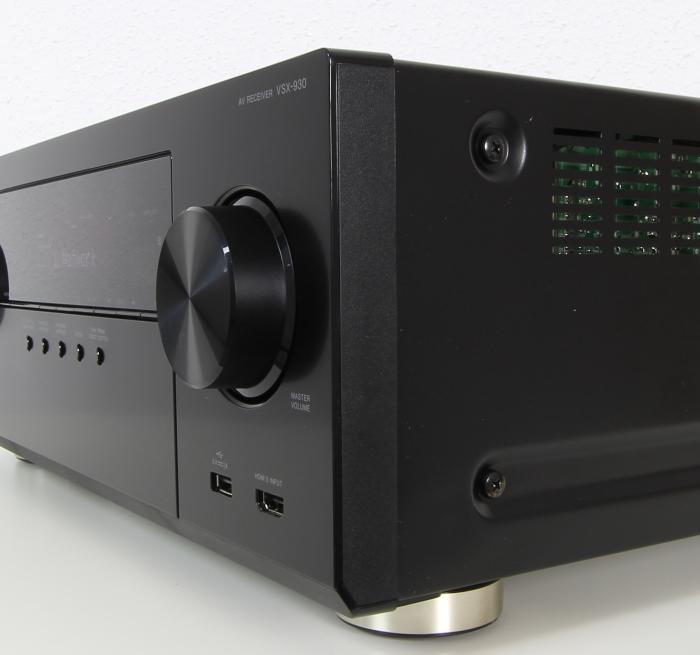 Pioneer VSX-930 Verarbeitung