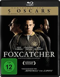 Foxcatcher Blu-ray Disc