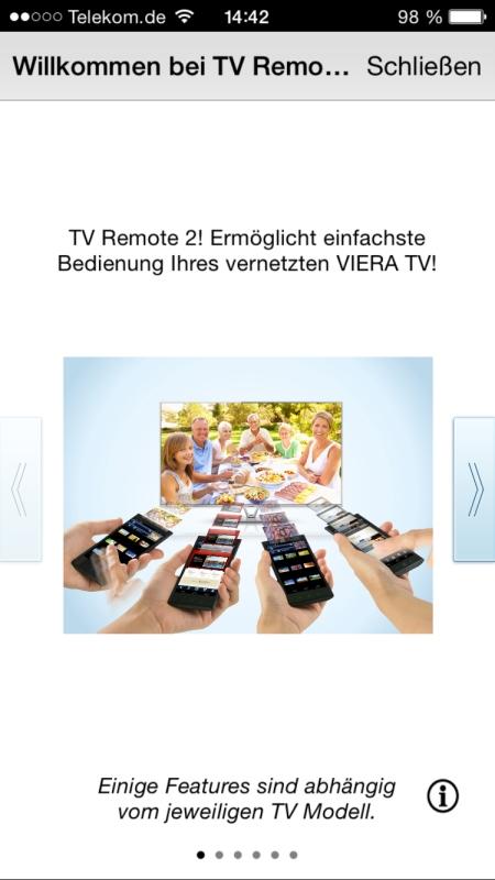 Panasonic TV Remote 2 1
