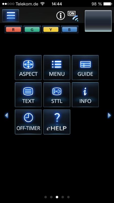 Panasonic TV Remote 2 7