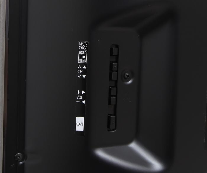 Panasonic TX-55CRW854 Bedienelemente Rueckseite