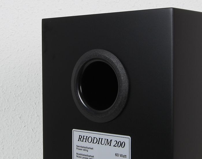 Quadral Rhodium 200 Bassreflexrohr
