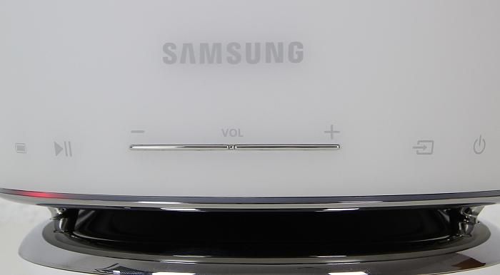 Samsung WAM6501 Bedienelemente Front