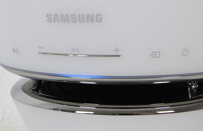 Samsung WAM7501 Bedienelemente Front
