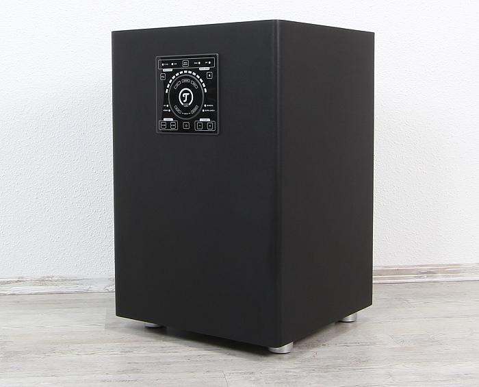 Teufel Concept E450 Digital CM2014SW Front Seitlich
