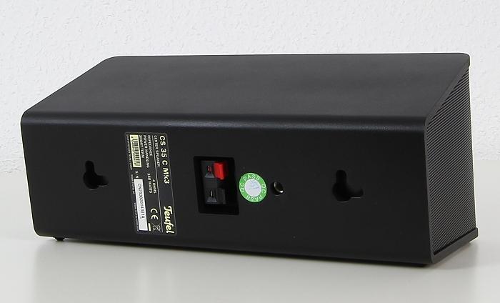 Teufel Concept E450 Digital CS35FCR Mk3 Rueckseite Seitlich