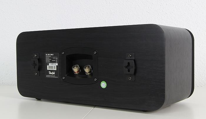 Teufel Ultima 40 Surround Complete UL 40 C Mk2 Rueckseite Seitlich