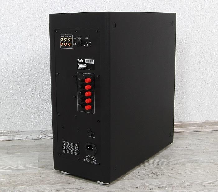 Teufel Ultima 40 Surround Complete US 5305 Rueckseite Seitlich