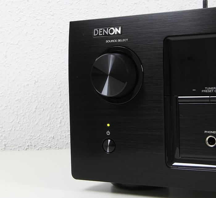 Denon AVR-X3200W Bedienelemente Front2