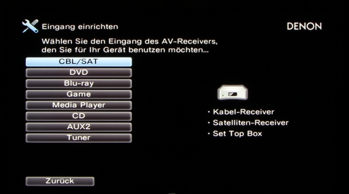 Denon AVR-X3200W Screenshot 27