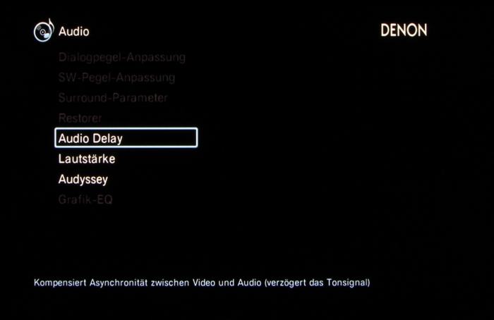 Denon AVR-X3200W Screenshot 29