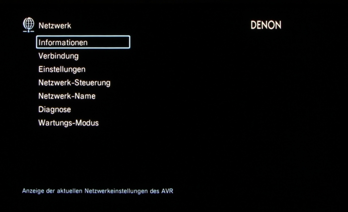 Denon AVR-X3200W Screenshot 36