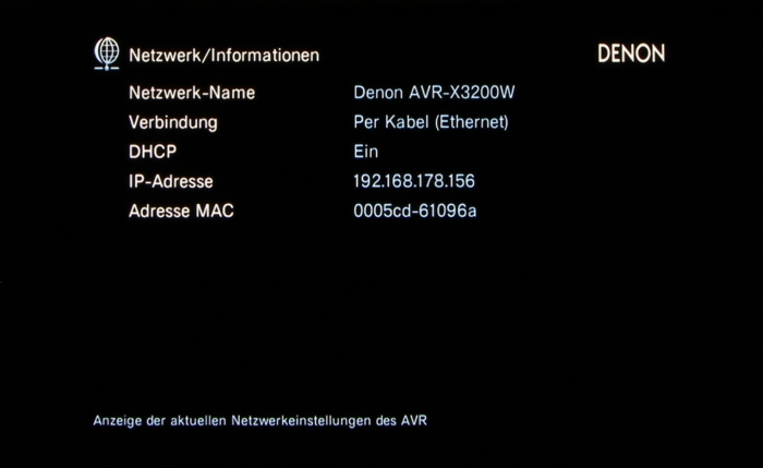 Denon AVR-X3200W Screenshot 37
