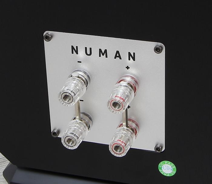 Numan Octavox 701 Anschluesse Rueckseite