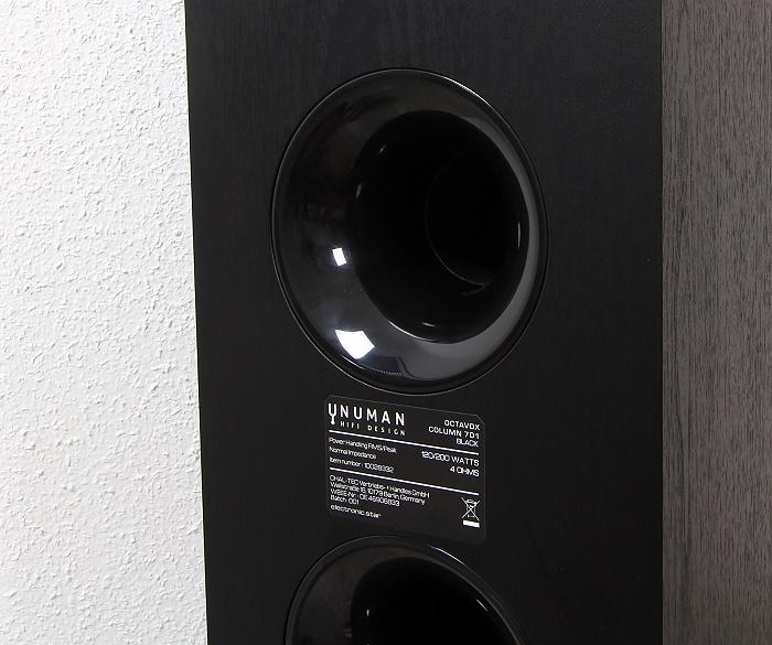 Numan Octavox 701 Bassreflexrohr