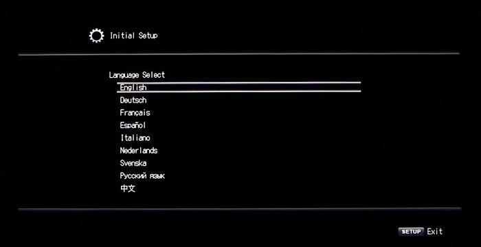 Onkyo TX-RZ900 Screenshot 1