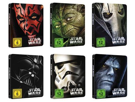 Star Wars - Blu-ray Disc-Steelbooks
