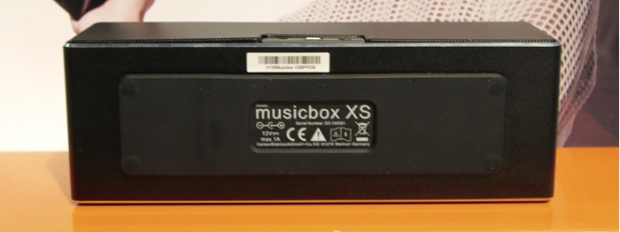 Canton MusicBox XS Unterseite