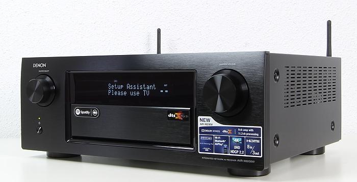 Denon AVR-X6200W Front Seitlich1