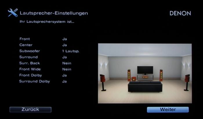 Denon AVR-X6200W Screenshot 10