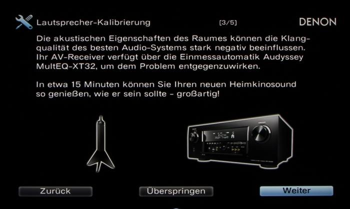 Denon AVR-X6200W Screenshot 12
