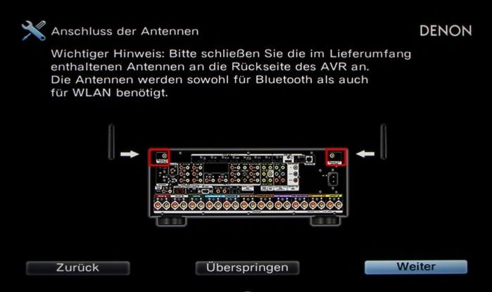 Denon AVR-X6200W Screenshot 13