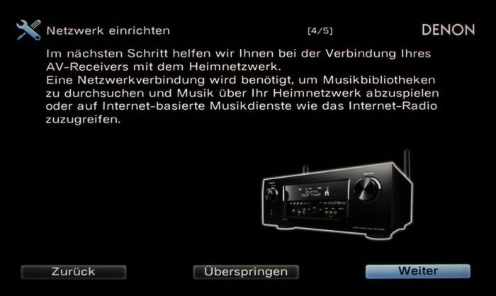 Denon AVR-X6200W Screenshot 14