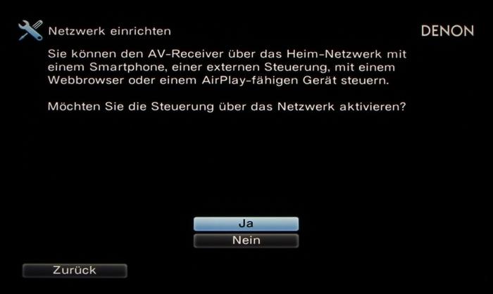 Denon AVR-X6200W Screenshot 16