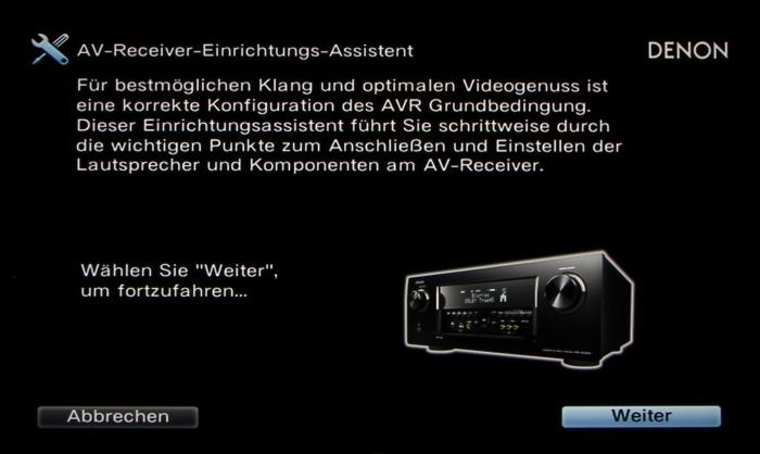 Denon AVR-X6200W Screenshot 2