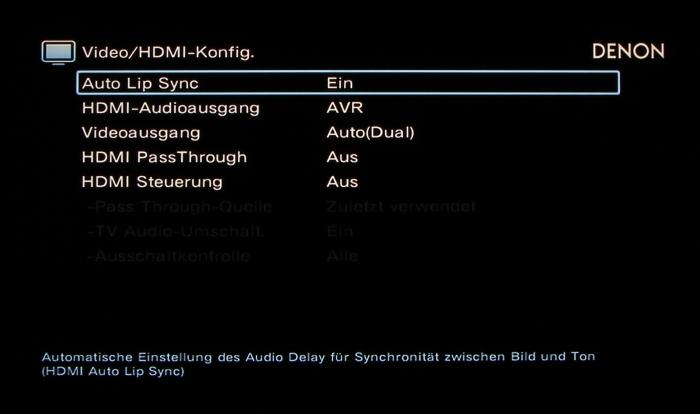 Denon AVR-X6200W Screenshot 22