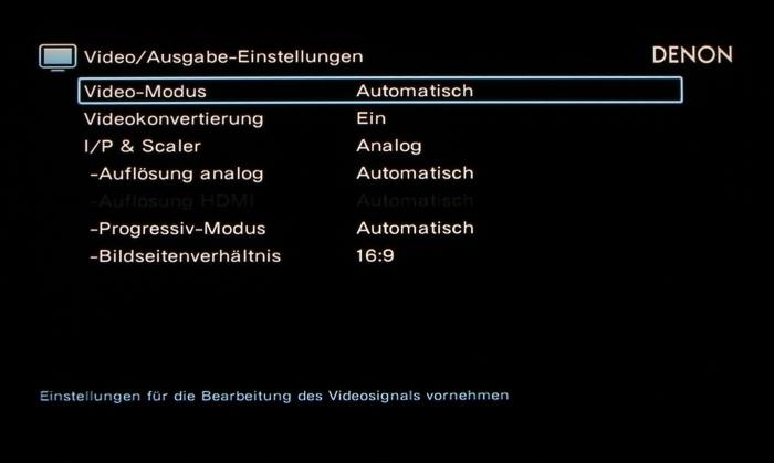 Denon AVR-X6200W Screenshot 23