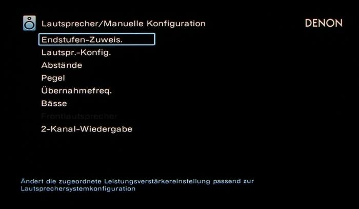 Denon AVR-X6200W Screenshot 25