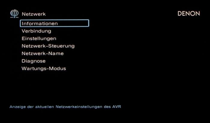 Denon AVR-X6200W Screenshot 29