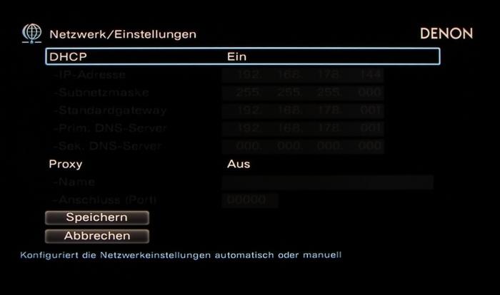 Denon AVR-X6200W Screenshot 31