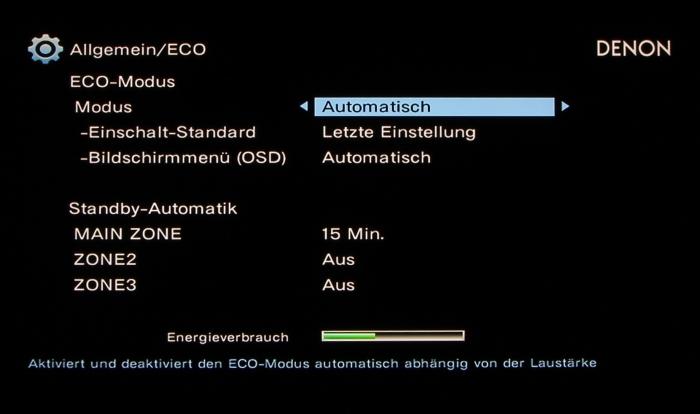 Denon AVR-X6200W Screenshot 33