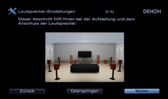 Denon AVR-X6200W Screenshot 4