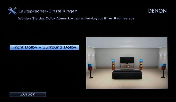 Denon AVR-X6200W Screenshot 9