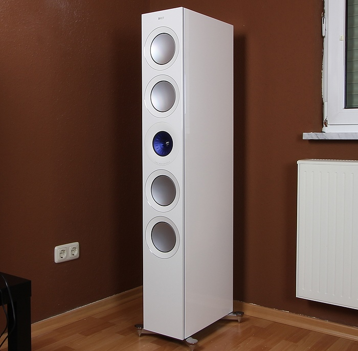 KEF Reference 5 Front Seitlich