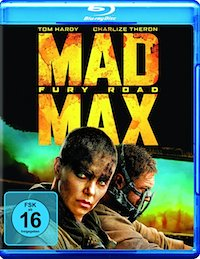 Mad Max Fury Road Blu-ray Disc