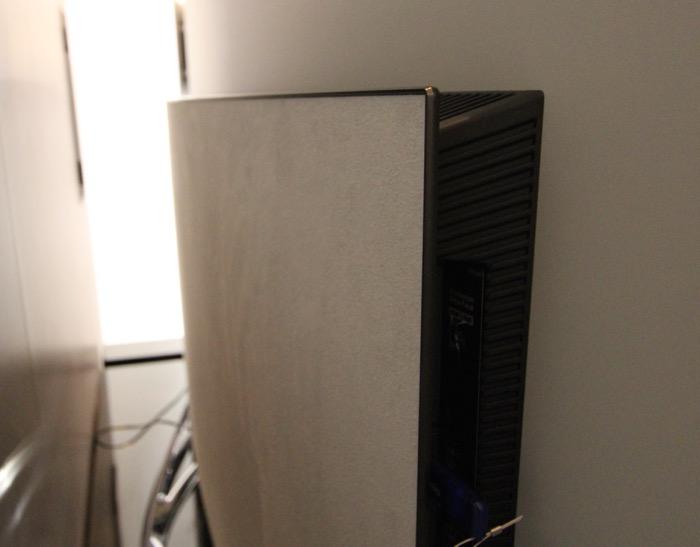 Panasonic TX-65CZW954 Rueck Alcantara