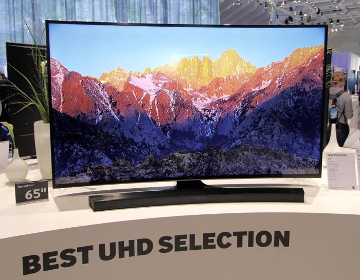 Samsung UHD JU6500