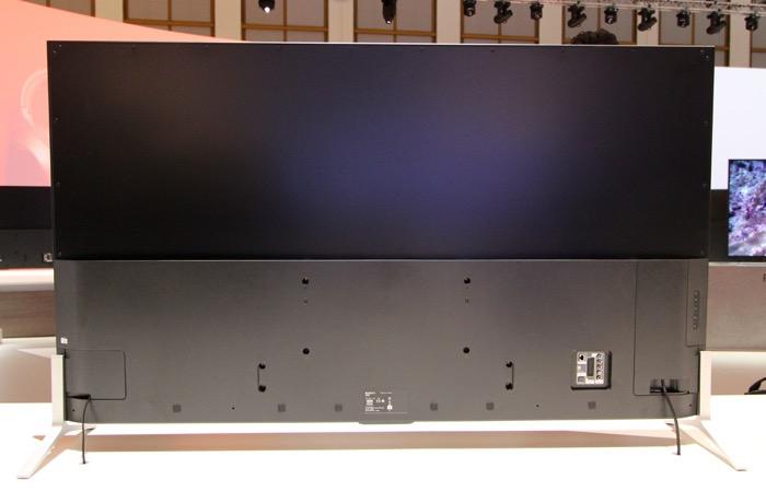 Sony KD-75X91C Rueckseite