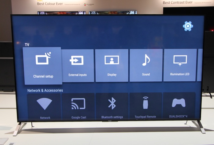 Sony KD-75X91C Settings TV