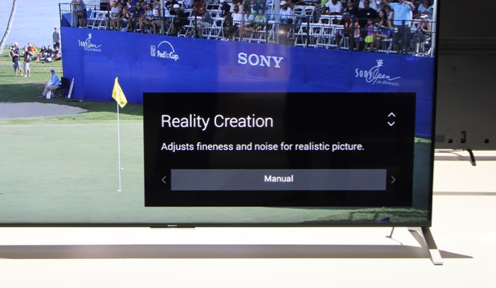 Sony KD-75X91C VideoEQ Advanced Reality Creation