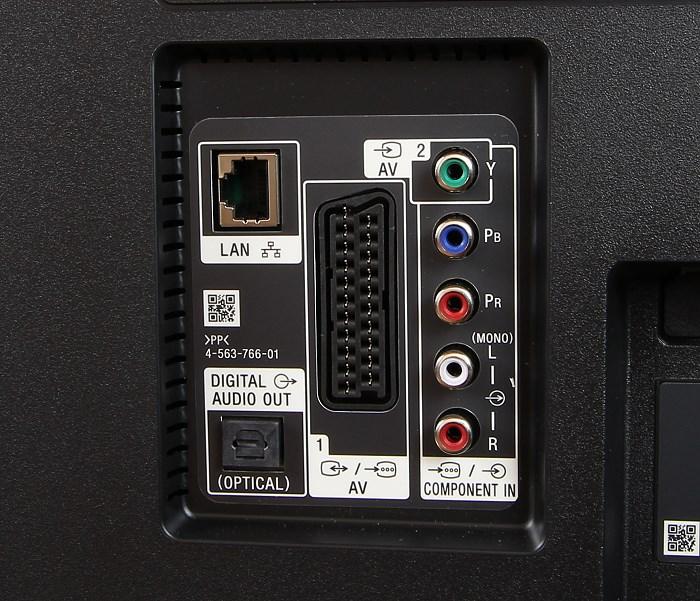 Sony KD65X8505 Anschluesse Rueckseite2