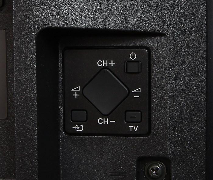 Sony KD65X8505 Bedienelemente Rueckseite