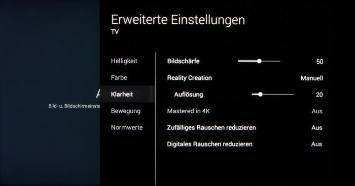 Sony KD65X8505 Screenshot36