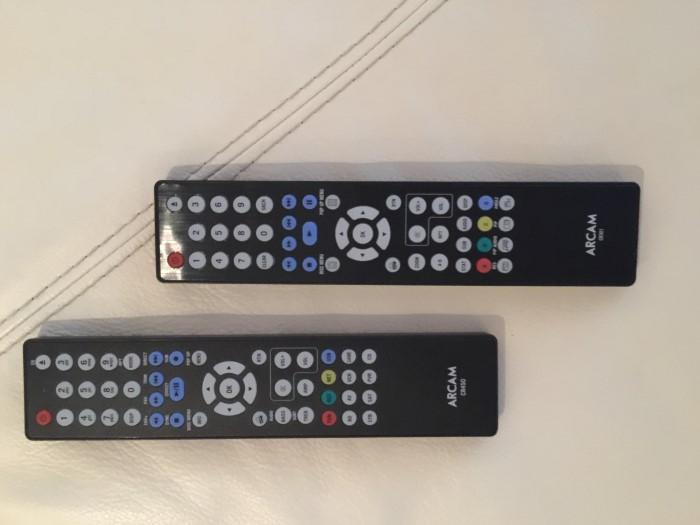 Arcam_remotes