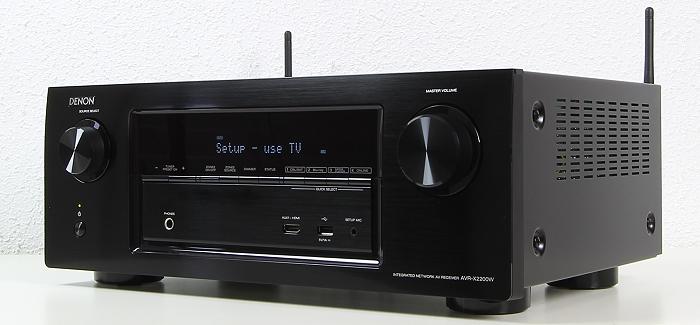 Denon AVR-X2200W Front Seitlich2