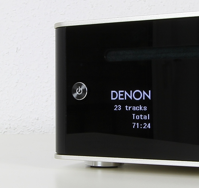 Denon DCD-50 Display Bedienelemente Front